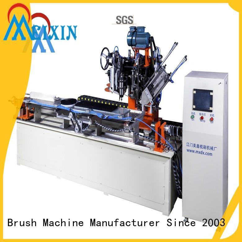 independent motion brush making machine design for PET brush