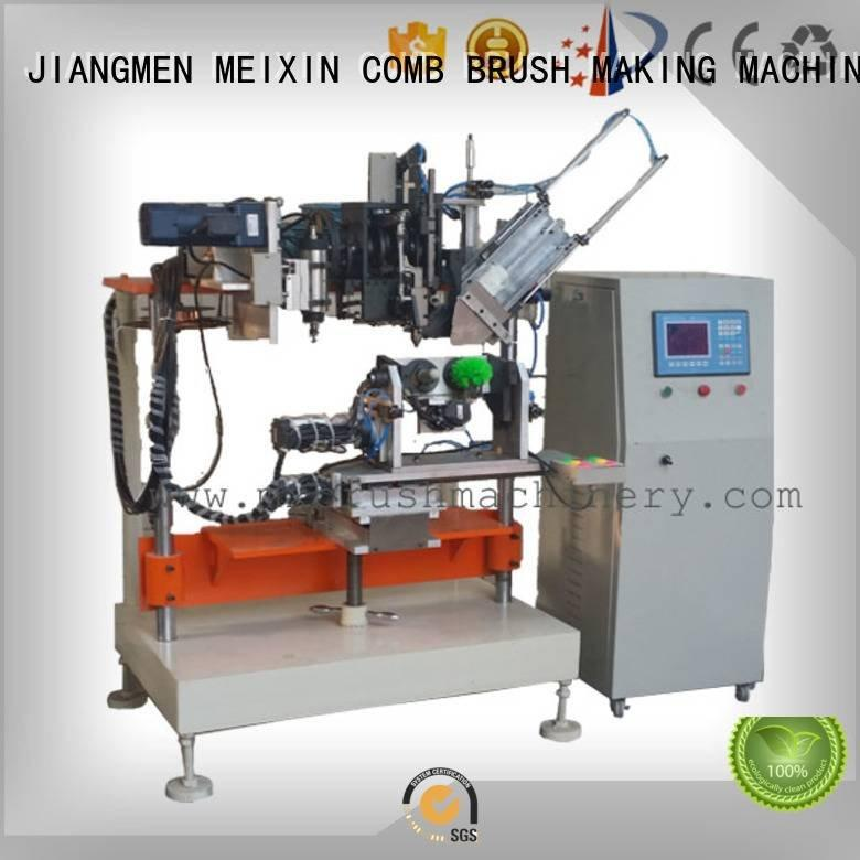 4 Axis Brush Drilling And Tufting Machine axis heads MEIXIN Brand