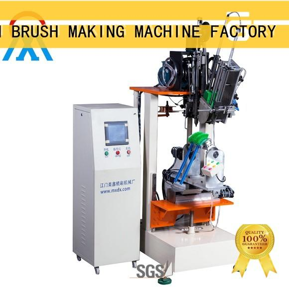 MEIXIN 2 drilling heads Brush Making Machine directly sale for household brush