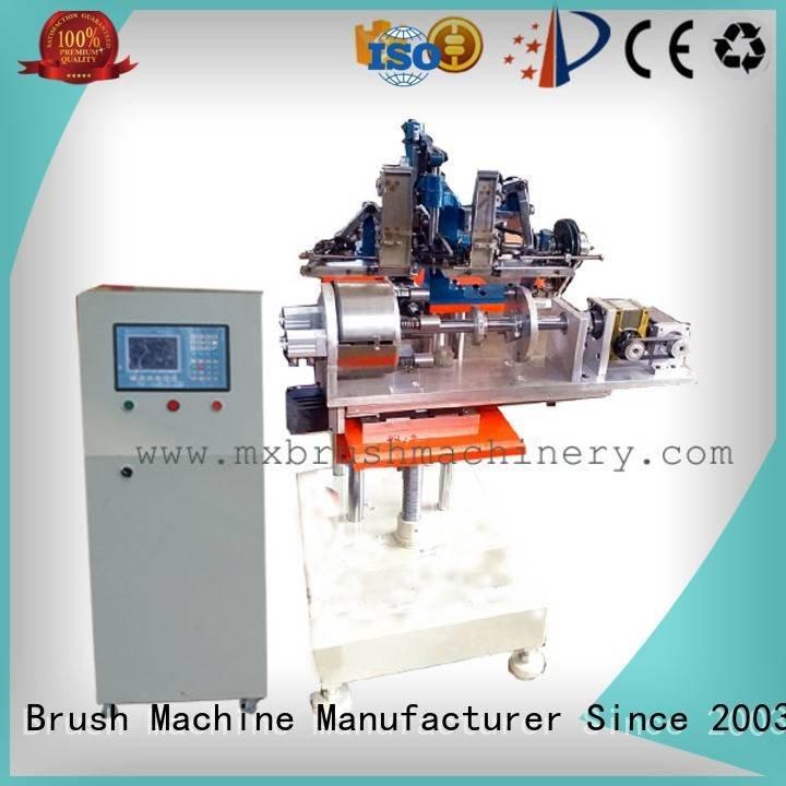 MEIXIN Brand heads hair brush making machine manufacturers axis making