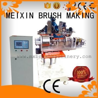 brush making machine manufacturers making heads axis MEIXIN
