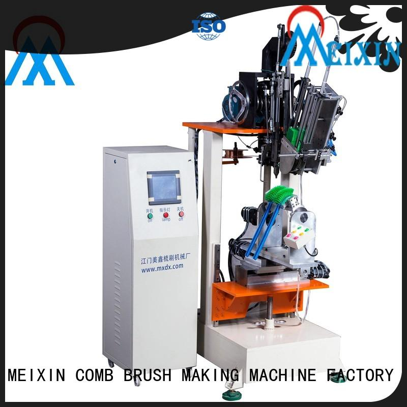 MEIXIN 2 drilling heads Brush Making Machine manufacturer for industrial brush