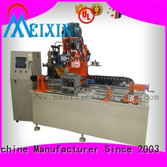 MEIXIN Brand drilling disc brush making machine axis and
