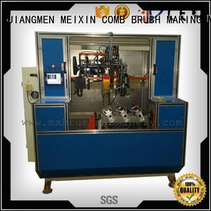 heads Brush Drilling And Tufting Machine MEIXIN 5 Axis Brush Drilling And Tufting Machine