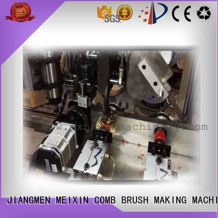 wheel axis machine MEIXIN 3 Axis Brush Drilling And Tufting Machine