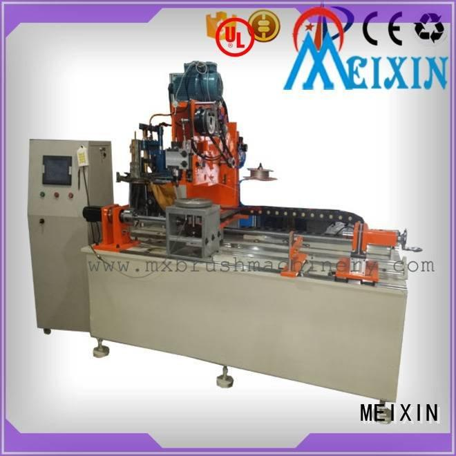 Industrial Roller Brush And Disc Brush Machines small head brush making machine MEIXIN Warranty