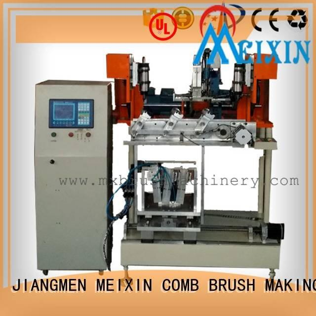 drilling and heads MEIXIN 4 Axis Brush Drilling And Tufting Machine
