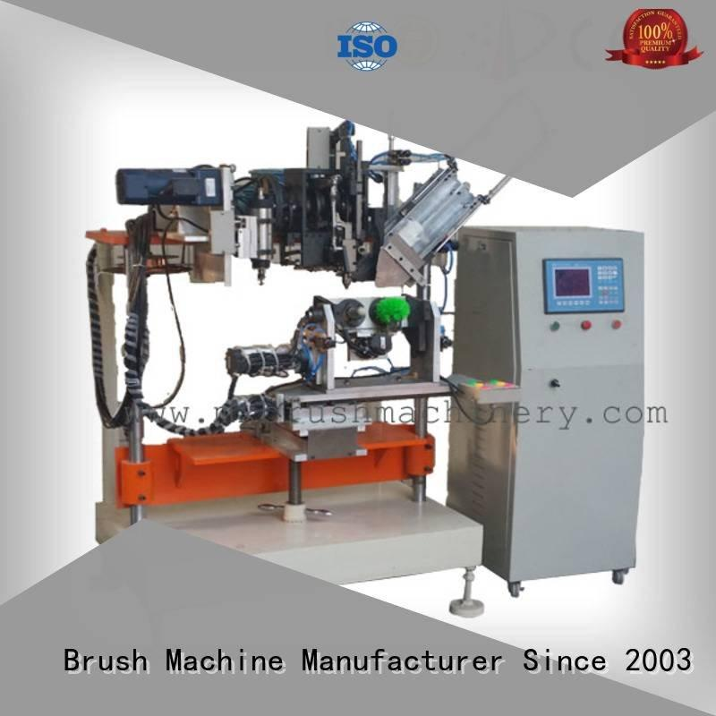 MEIXIN Brand and axis brush Drilling And Tufting Machine heads