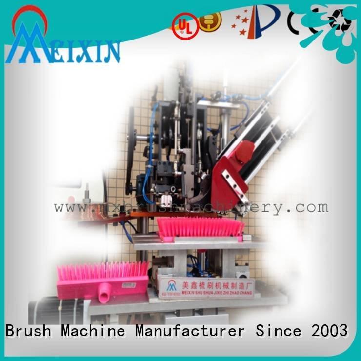 MEIXIN Brand machines brushes double brush making machine price