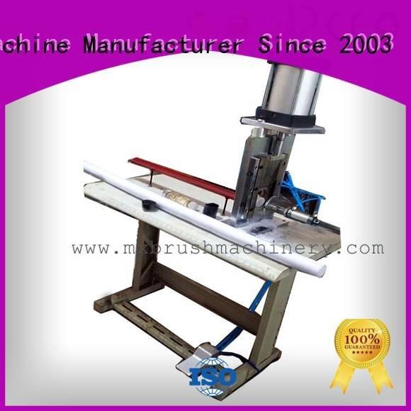 MEIXIN making automatic pneunatic Manual Broom Trimming Machine brush