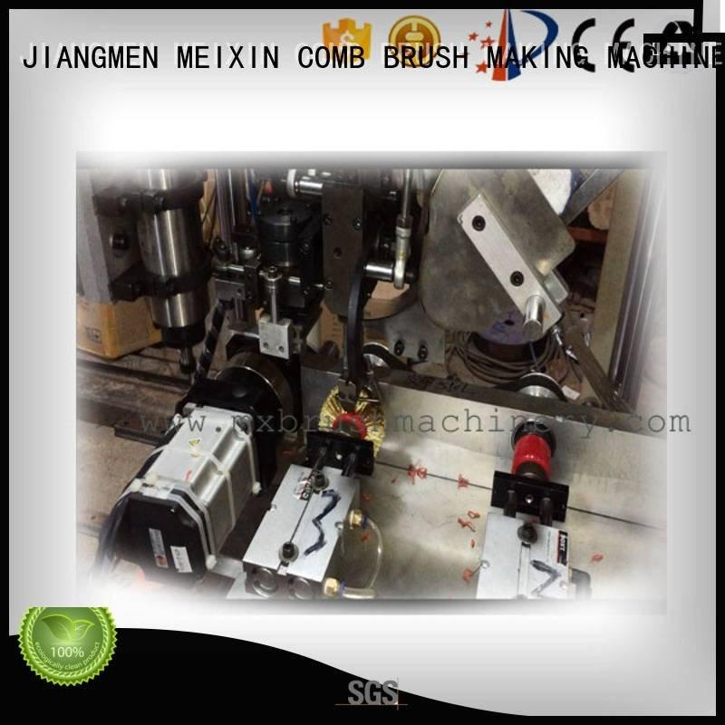 MEIXIN Brand brush 3 Axis Brush Drilling And Tufting Machine axis wire