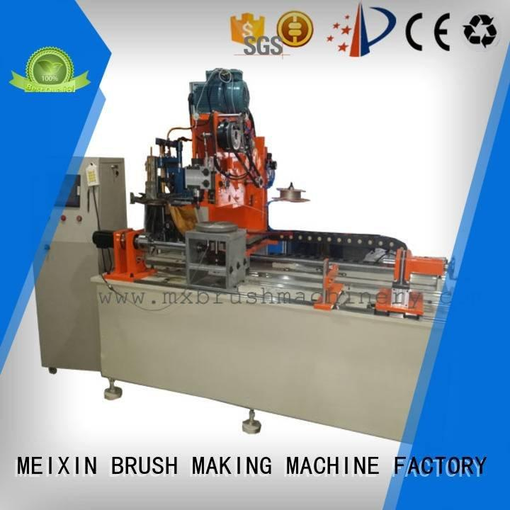 head axis Industrial Roller Brush And Disc Brush Machines MEIXIN