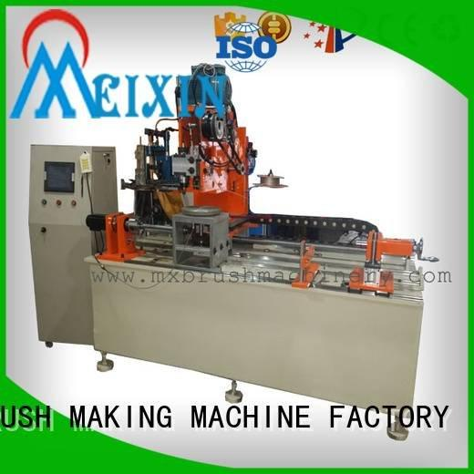 Industrial Roller Brush And Disc Brush Machines small tufting disc drilling MEIXIN