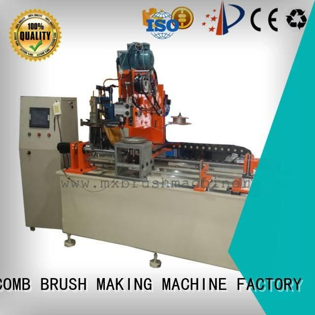 small tufting Industrial Roller Brush And Disc Brush Machines MEIXIN
