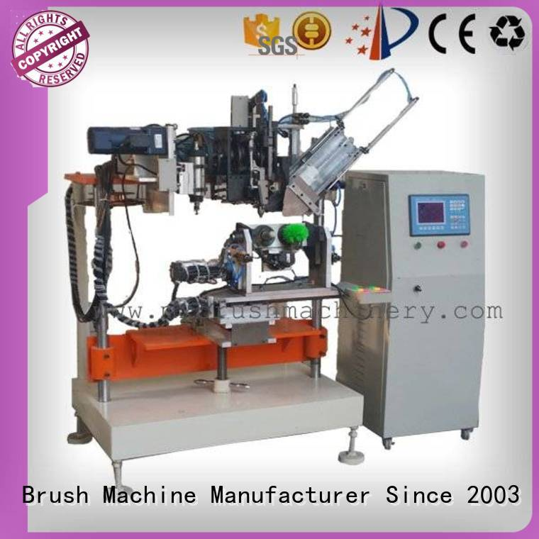 MEIXIN Brand drilling axis heads 4 Axis Brush Drilling And Tufting Machine machine