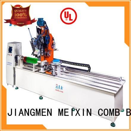 MEIXIN high productivity brush making machine design for PET brush