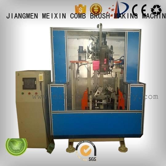 MEIXIN 5 Axis Brush Making Machine making mx189 head hockey