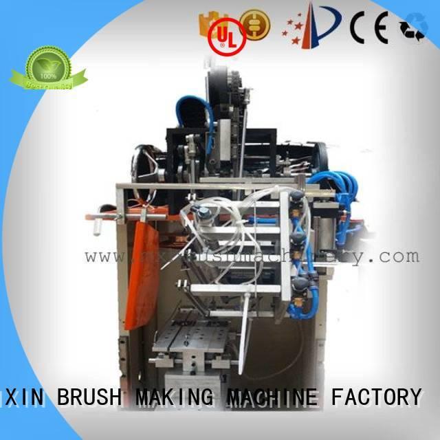 4 Axis 1 Head Broom Brush Tufting Machine