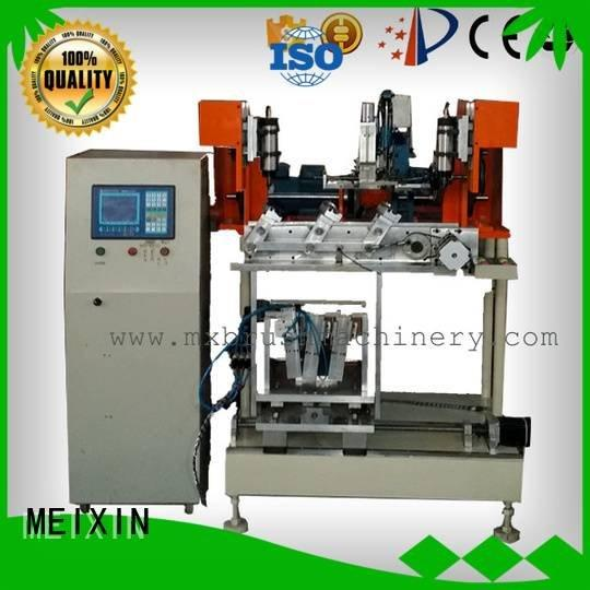MEIXIN Brand axis tufting 4 Axis Brush Drilling And Tufting Machine heads machine