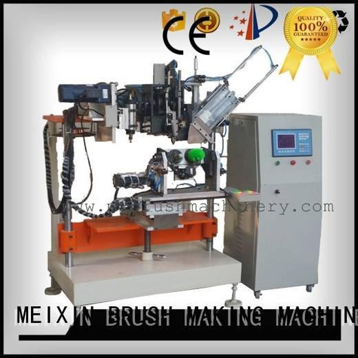 heads drilling 4 Axis Brush Drilling And Tufting Machine MEIXIN