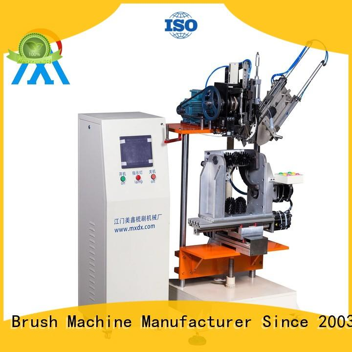 independent motion brush tufting machine factory for clothes brushes