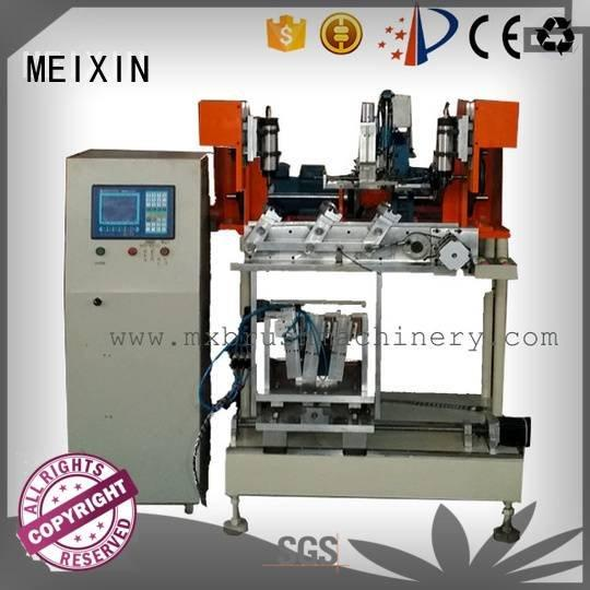 heads MEIXIN 4 Axis Brush Drilling And Tufting Machine