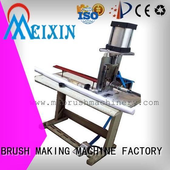 practical trimming machine customized for bristle brush