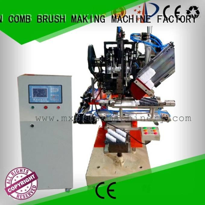 brushes flat double clothes MEIXIN brush making machine price
