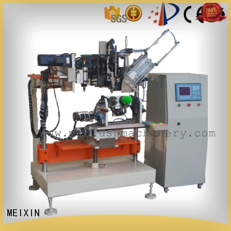 MEIXIN 4 Axis Brush Drilling And Tufting Machine tufting and drilling machine