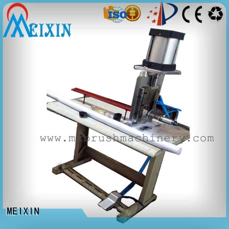 MEIXIN Manual Broom Trimming Machine making jhadu toilet manual