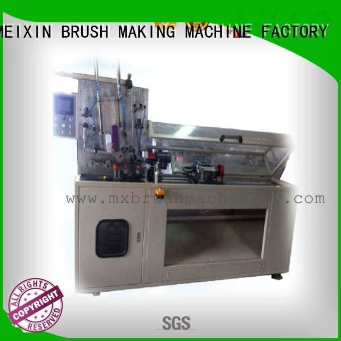 Custom mx trimming machine making Manual Broom Trimming Machine