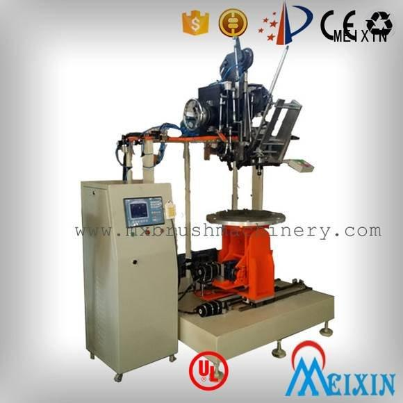 Industrial Roller Brush And Disc Brush Machines drilling brush making machine MEIXIN