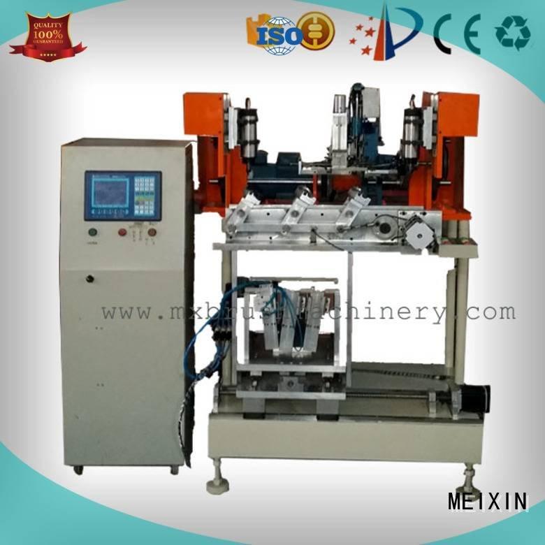 Hot 4 Axis Brush Drilling And Tufting Machine brush machine heads MEIXIN Brand