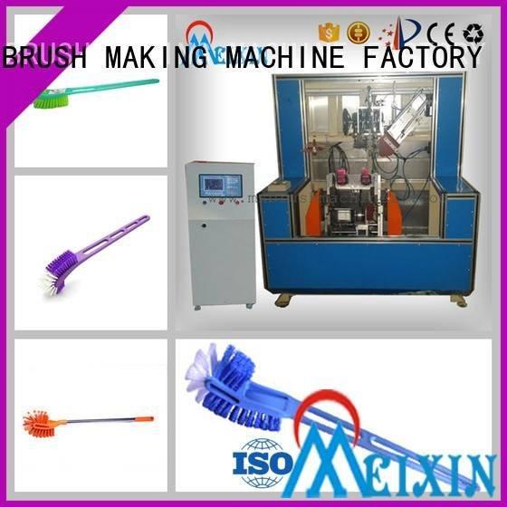 5 Axis Brush Making Machine tufting head mx189 axis MEIXIN