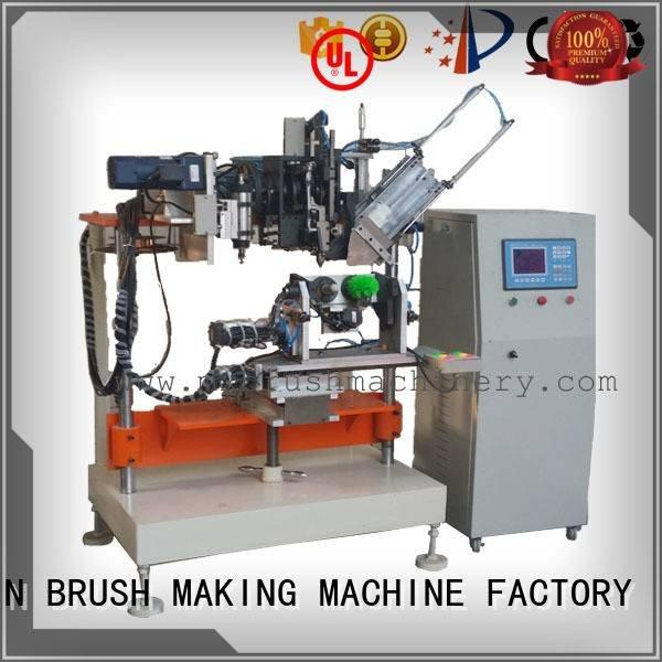 brush axis machine MEIXIN 4 Axis Brush Drilling And Tufting Machine