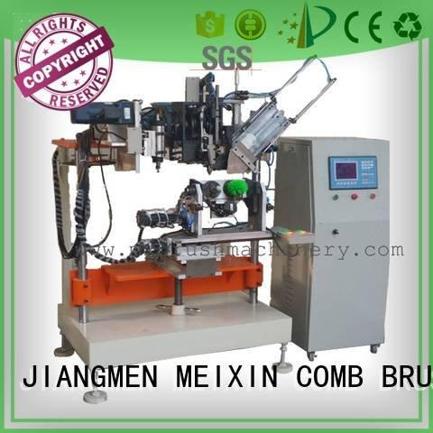 tufting heads 4 Axis Brush Drilling And Tufting Machine MEIXIN