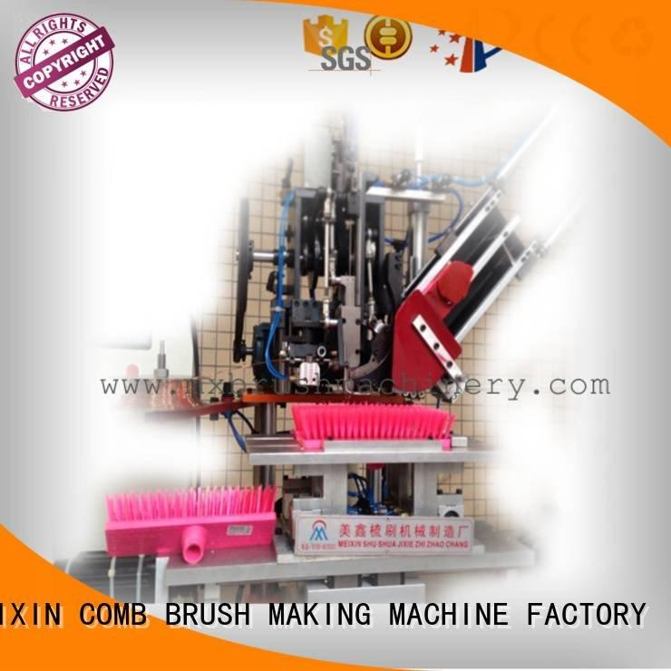 MEIXIN Brand flat broom head brush making machine price