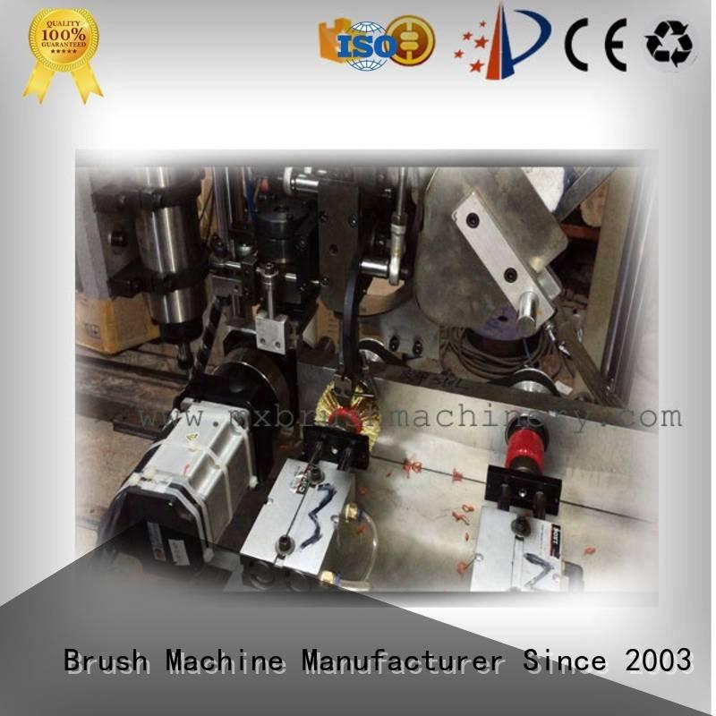 wheel brush MEIXIN 3 Axis Brush Drilling And Tufting Machine