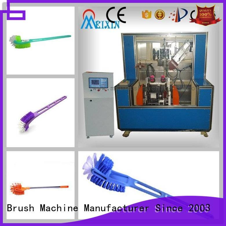 MEIXIN 220V Brush Making Machine customized for toilet brush
