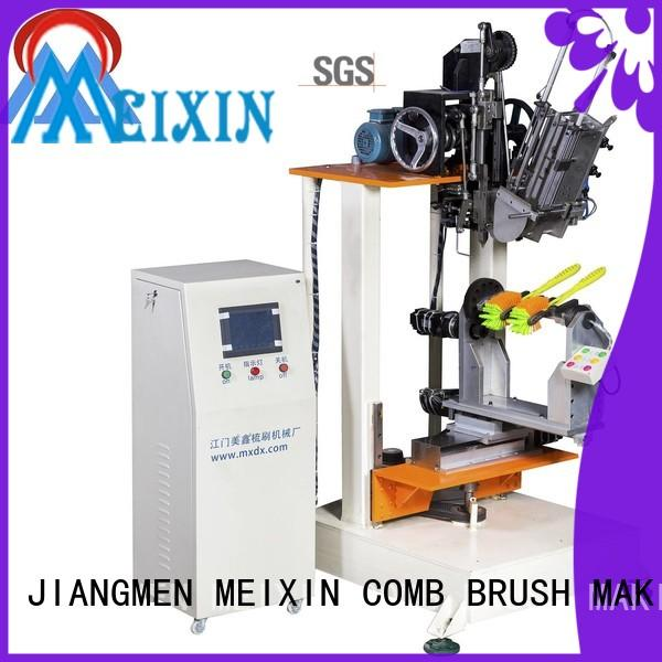 independent motion brush making equipment customized for broom
