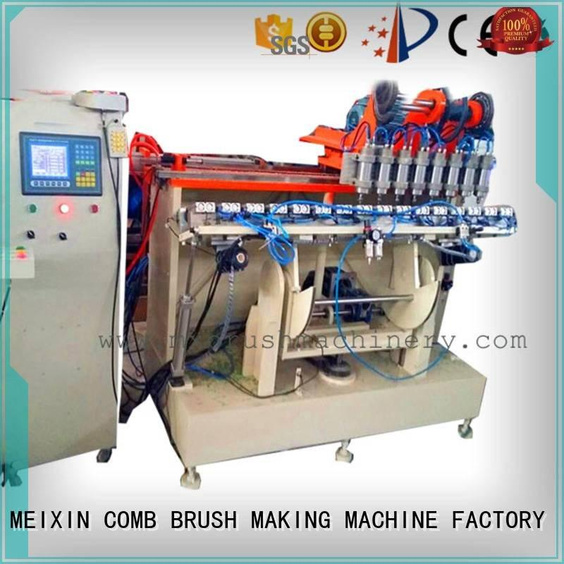 Hot 5 Axis Brush Making Machine tufting hockey mx189 MEIXIN Brand