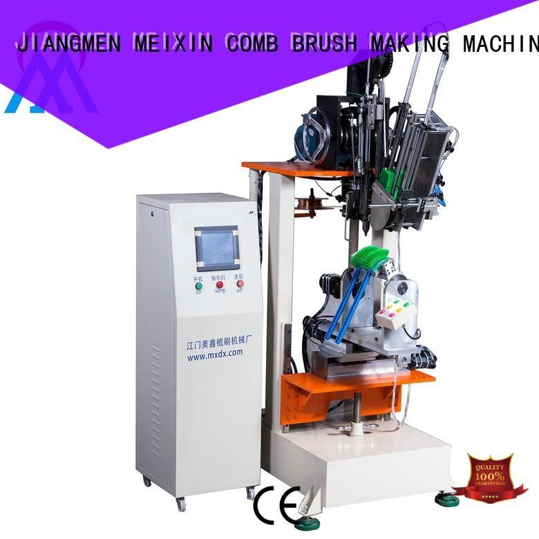 MEIXIN 2 drilling heads Brush Making Machine manufacturer for household brush