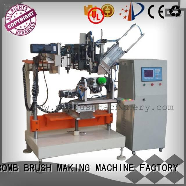 MEIXIN Brand drilling machine 4 Axis Brush Drilling And Tufting Machine heads and