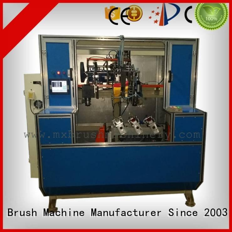 MEIXIN 5 Axis Brush Drilling And Tufting Machine toilet heads broom machine