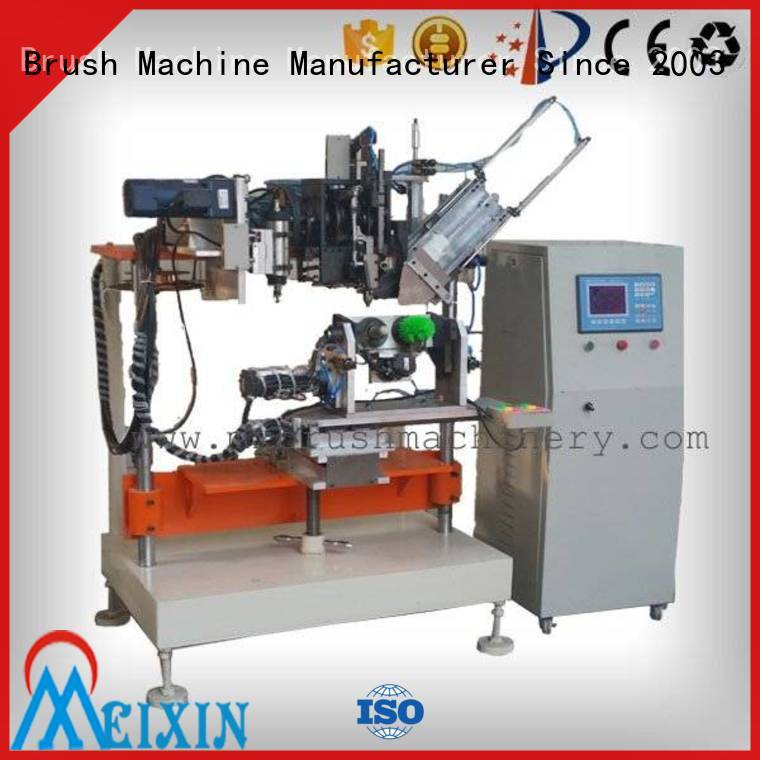 MEIXIN independent motion broom manufacturing machine personalized for industrial brush