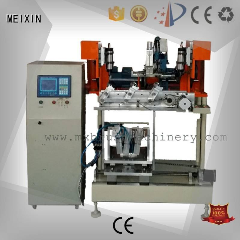 machine axis MEIXIN 4 Axis Brush Drilling And Tufting Machine