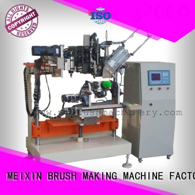 and tufting machine heads MEIXIN 4 Axis Brush Drilling And Tufting Machine