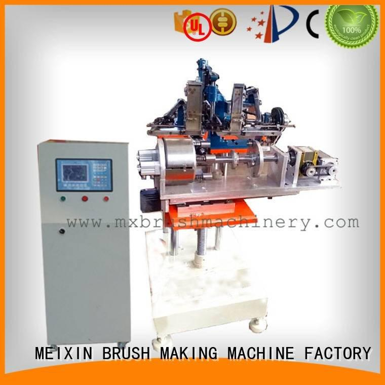 heads brushes axis MEIXIN brush making machine manufacturers
