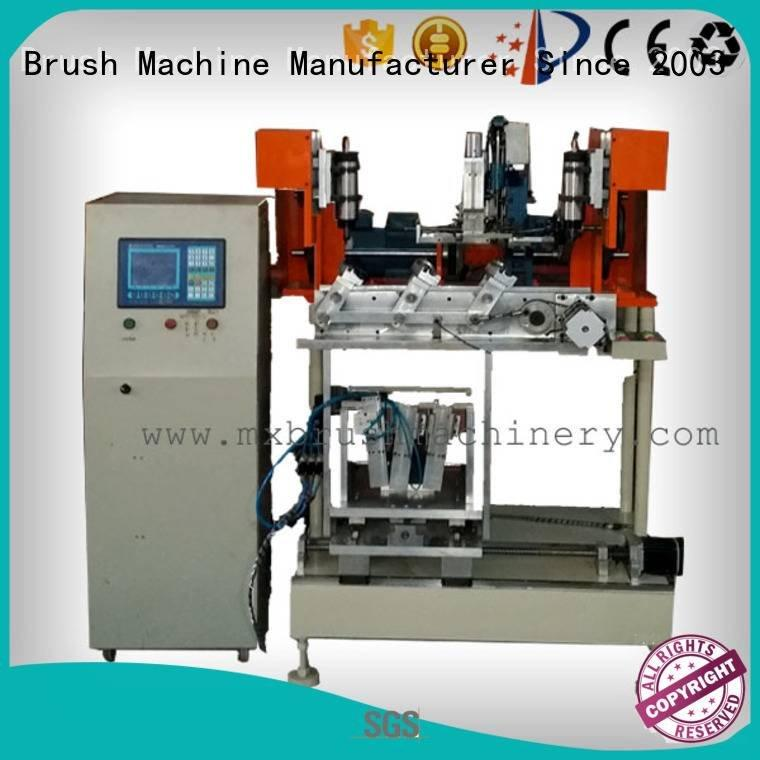 MEIXIN 4 Axis Brush Drilling And Tufting Machine and machine axis drilling
