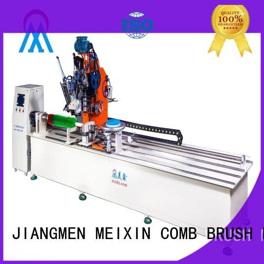 independent motion Industrial Roller Brush And Disc Brush Machines factory for PP brush MEIXIN